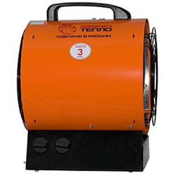 Профтепло ТТ-6Т апельсин (6кВт, 380В) электрическая тепловая пушка Профтепло Электрические Тепловые пушки