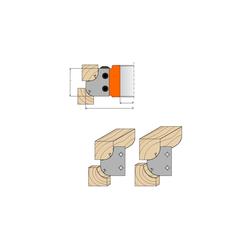фрезы радиусно-галтельные CMT Насадные со сменными твердыми ножами Фрезы по дереву