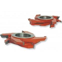 Комплекты фрез для изготовления погонажных изделий AQUILA ( LWW ) CMT Насадные с напайными ножами Фрезы по дереву