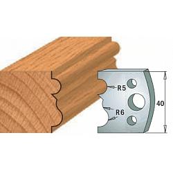 Комплекты ножей и ограничителей серии 690/691 #029 CMT Ножи и ограничители для фрез 40 мм Ножи