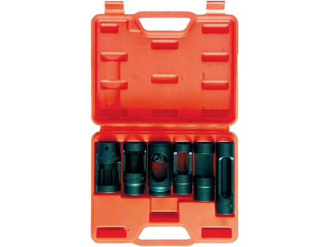 Набор головок для дизельных форсунок Сорокин 40.54 (6шт) Сорокин Ручной Инструмент