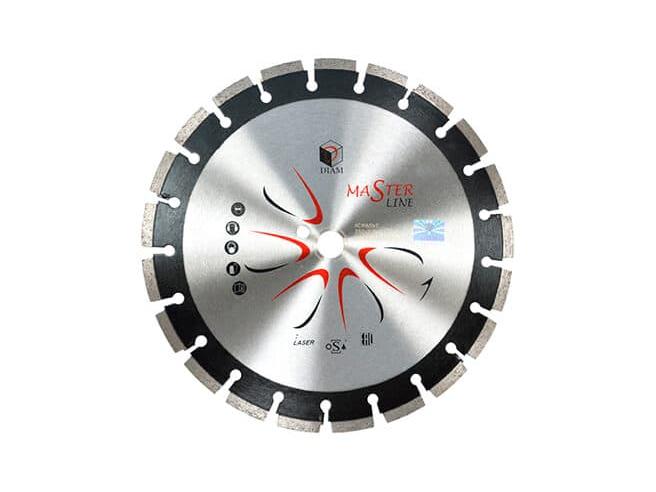 DIAM Асфальт Master Line 000489 1A1RSS алмазный круг для асфальта 350мм Diam По асфальту Алмазные диски